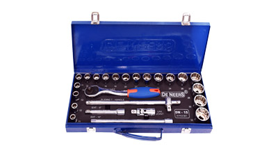 12.5mm (1/2) Drive HEX & BI-HEX Socket Set